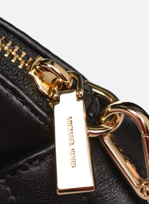 Bolsos de mano Michael Michael Kors JET SET CHARMS LG ZIP DOME CROSSBODY Negro vista lateral izquierda