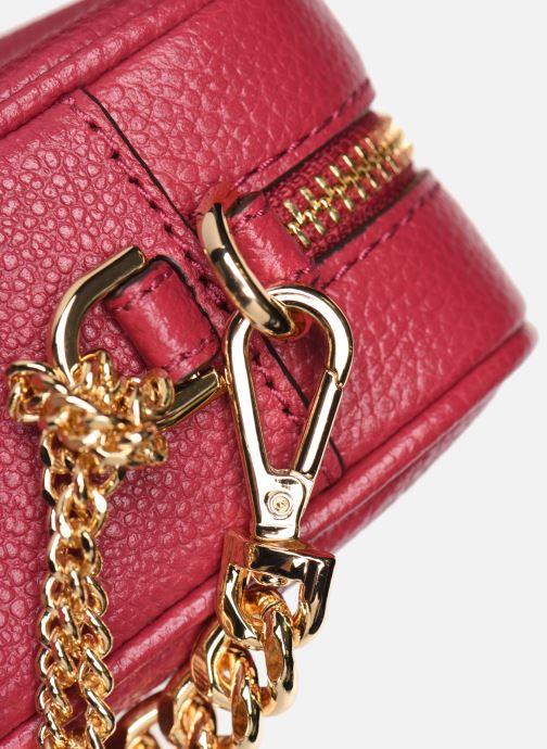 Bolsos de mano Michael Michael Kors JET SET MD CAMERA BAG Rosa vista lateral izquierda