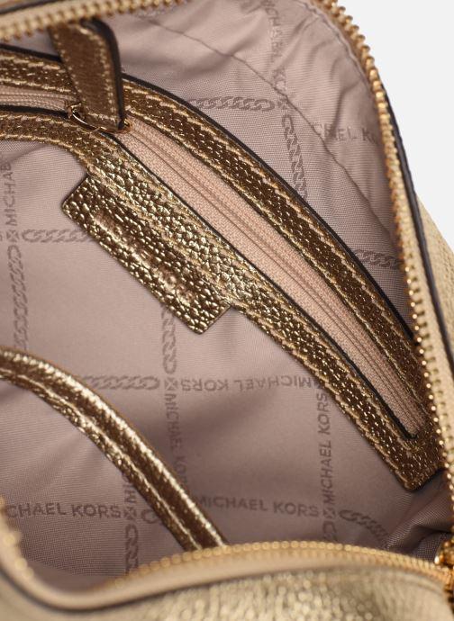 Handtassen Michael Michael Kors JET SET MD CAMERA BAG Goud en brons achterkant