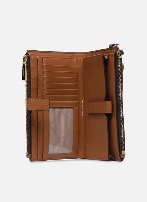 Pelletteria Michael Michael Kors WRISTLET DOUBLE ZIP AROUND Marrone immagine posteriore