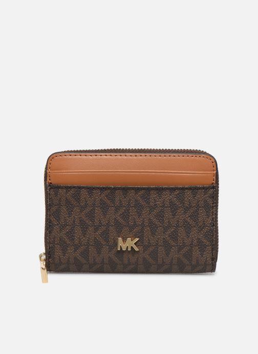 Petite Maroquinerie Michael Michael Kors MOTT ZA COIN CARD CASE Marron vue détail/paire