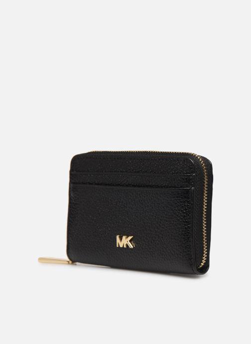 Marroquinería pequeña Michael Michael Kors MOTT ZA COIN CARD CASE Negro vista del modelo