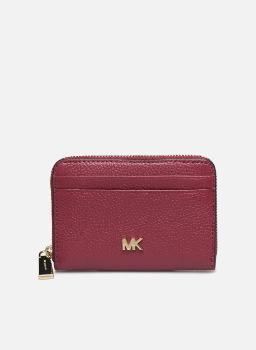 Petite Maroquinerie Michael Michael Kors MOTT ZA COIN CARD CASE Violet vue détail/paire