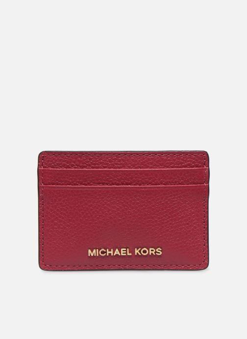 Pelletteria Michael Michael Kors JET SET CARD HOLDER Rosa vedi dettaglio/paio