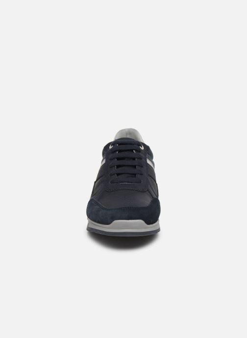 Baskets Geox U WILMER Bleu vue portées chaussures
