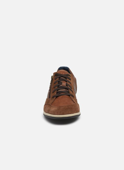 Baskets Geox U RENAN U024GA Marron vue portées chaussures