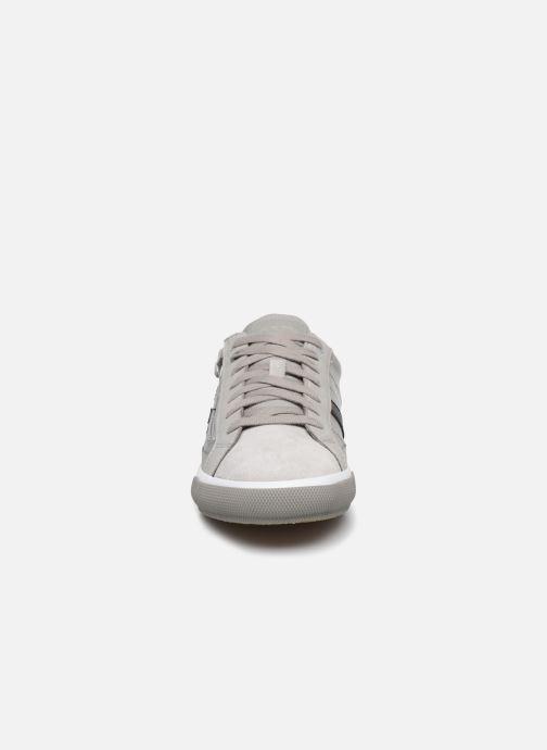 Sneaker Geox U KAVEN U026MC grau schuhe getragen
