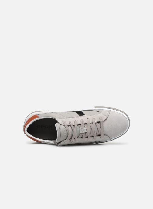 Sneaker Geox U KAVEN U026MC grau ansicht von links