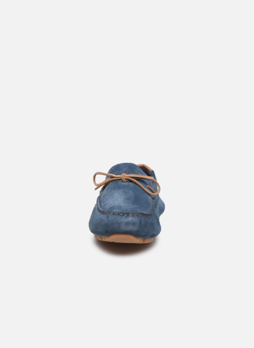 Mocassins Geox U MELBOURNE Bleu vue portées chaussures