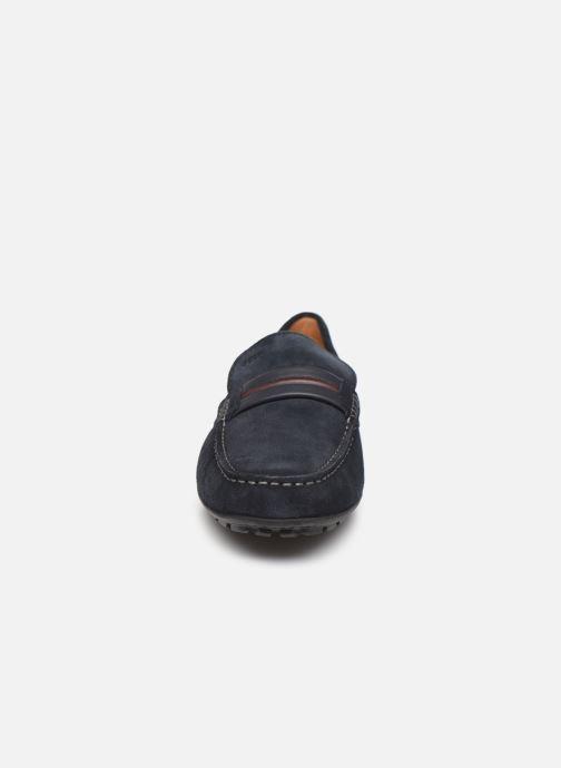 Mocassins Geox U MONER U0244A Bleu vue portées chaussures