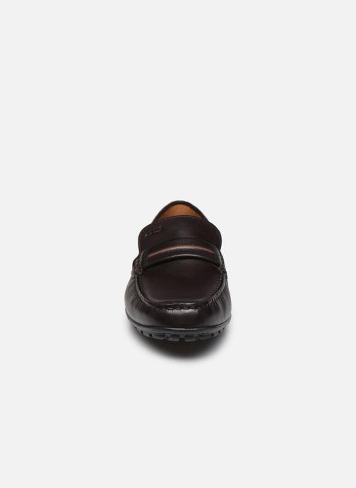 Mocassins Geox U MONER U0244A Marron vue portées chaussures
