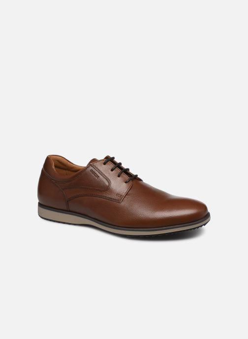 Zapatos con cordones Geox U BLAINEY Marrón vista de detalle / par