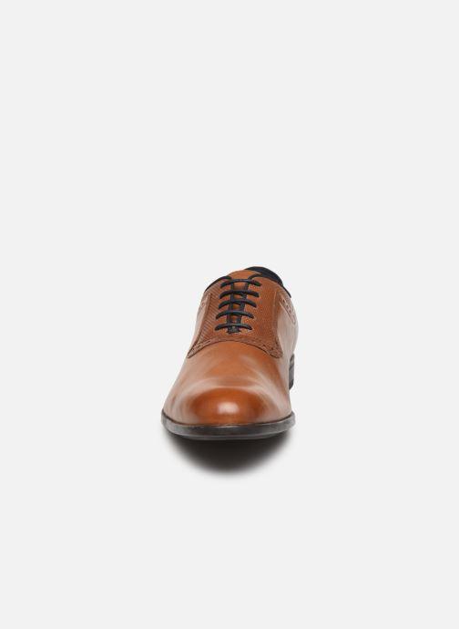 Chaussures à lacets Geox U IACOPO U029GA Marron vue portées chaussures