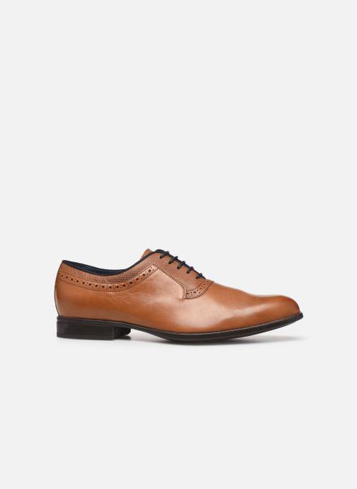 Chaussures à lacets Geox U IACOPO U029GA Marron vue derrière