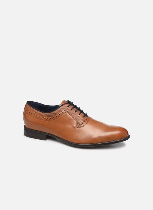 Chaussures à lacets Geox U IACOPO U029GA Marron vue détail/paire