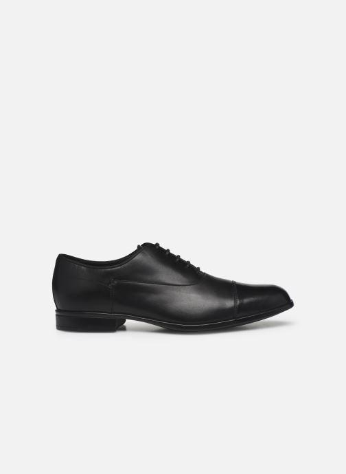 Chaussures à lacets Geox U IACOPO U029GB Noir vue derrière