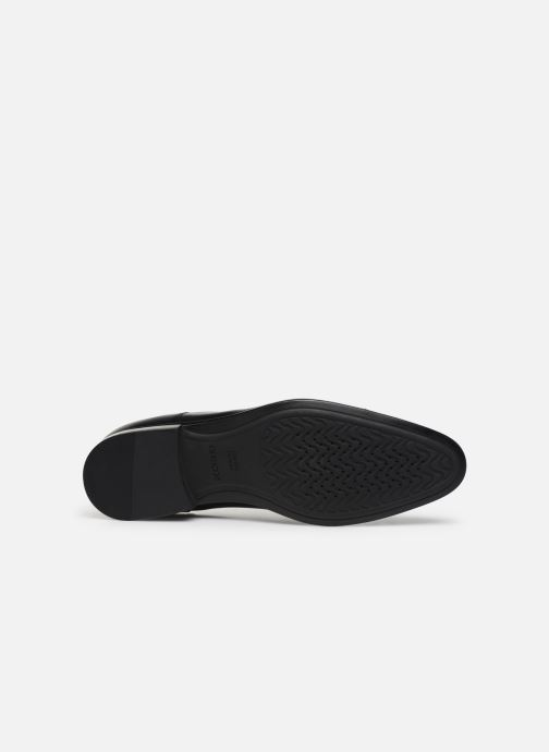 Chaussures à lacets Geox U IACOPO U029GB Noir vue haut