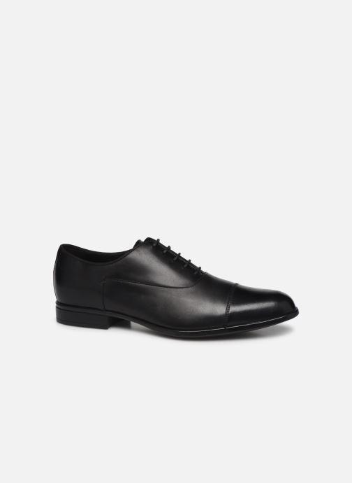 Chaussures à lacets Geox U IACOPO U029GB Noir vue détail/paire