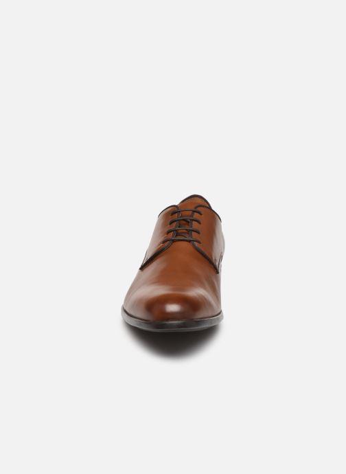 Chaussures à lacets Geox U IACOPO U029GC Marron vue portées chaussures