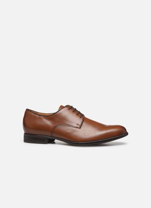 Chaussures à lacets Geox U IACOPO U029GC Marron vue derrière