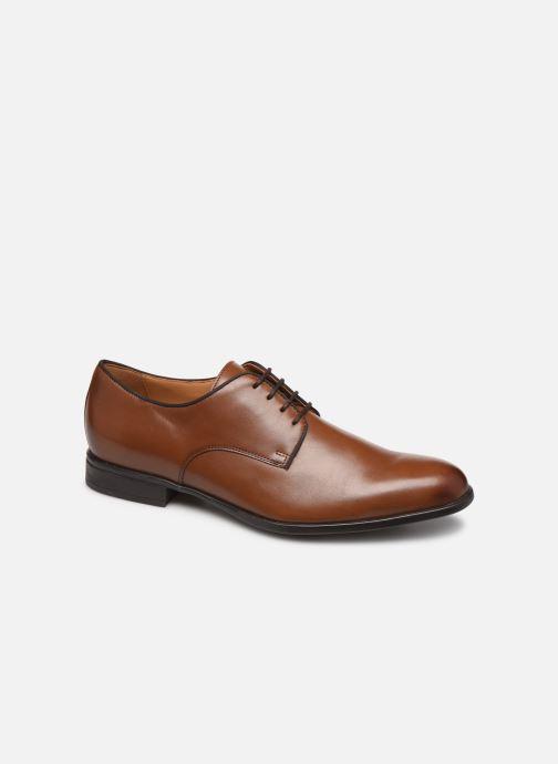 Chaussures à lacets Geox U IACOPO U029GC Marron vue détail/paire