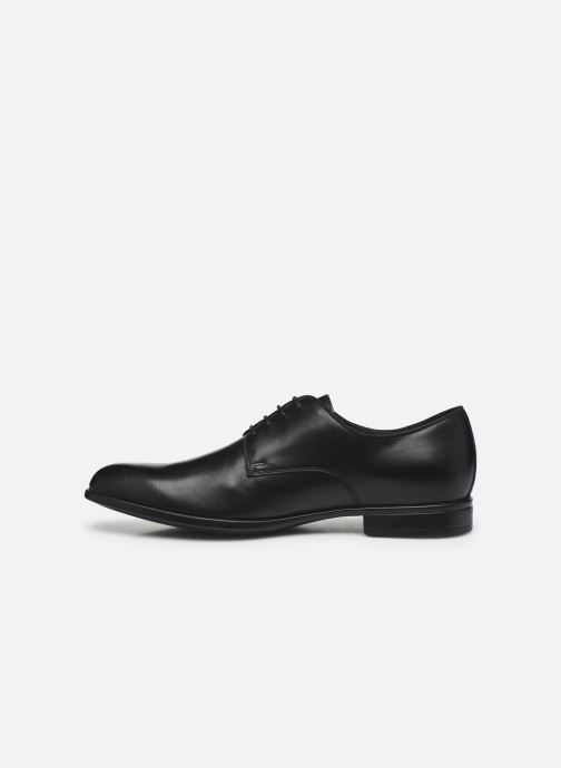 Chaussures à lacets Geox U IACOPO U029GC Noir vue face