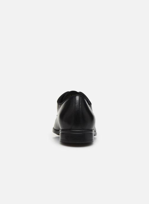 Chaussures à lacets Geox U IACOPO U029GC Noir vue droite