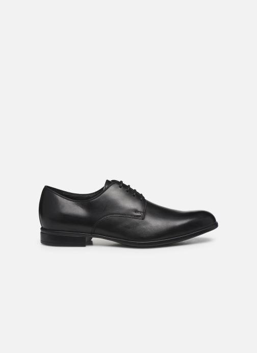 Chaussures à lacets Geox U IACOPO U029GC Noir vue derrière