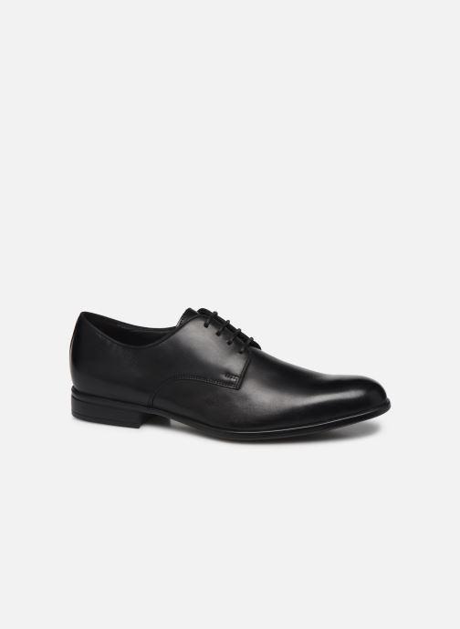Chaussures à lacets Geox U IACOPO U029GC Noir vue détail/paire