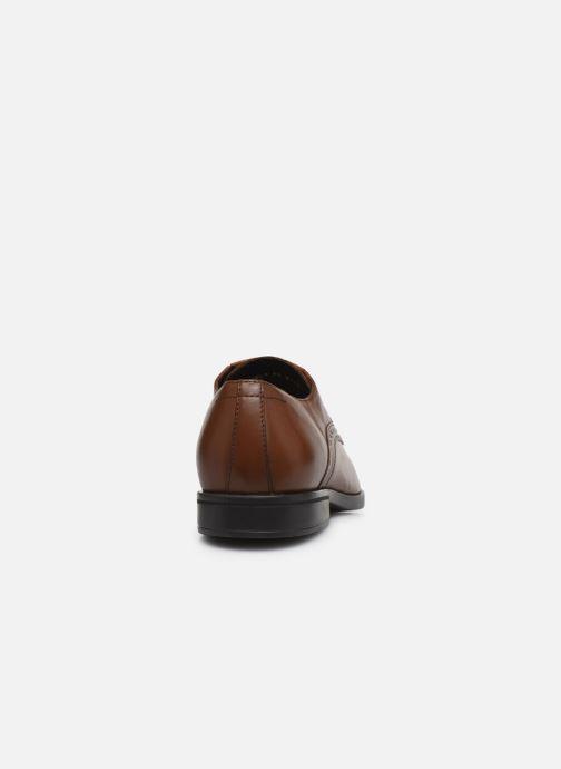 Chaussures à lacets Geox U DOMENICO U029LA Marron vue droite
