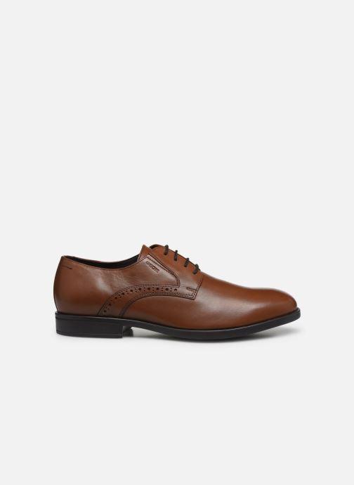 Chaussures à lacets Geox U DOMENICO U029LA Marron vue derrière