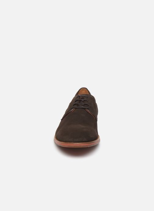 Lace-up shoes Geox U BAYLE Brown model view