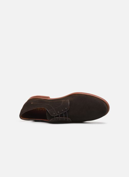 Lace-up shoes Geox U BAYLE Brown view from the left