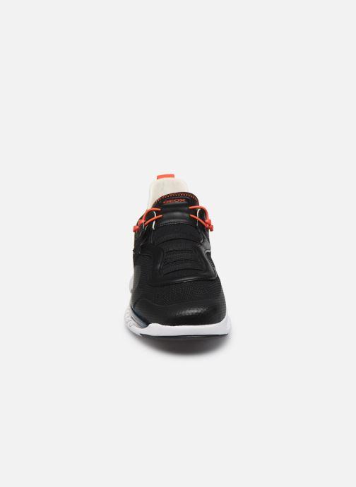 Baskets Geox U LEVITA Noir vue portées chaussures