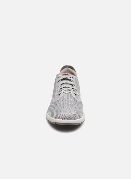 Sneaker Geox U AERANTIS U027FD grau schuhe getragen