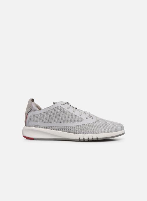 Sneaker Geox U AERANTIS U027FD grau ansicht von hinten