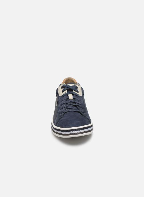 Sneaker Geox U EOLO blau schuhe getragen