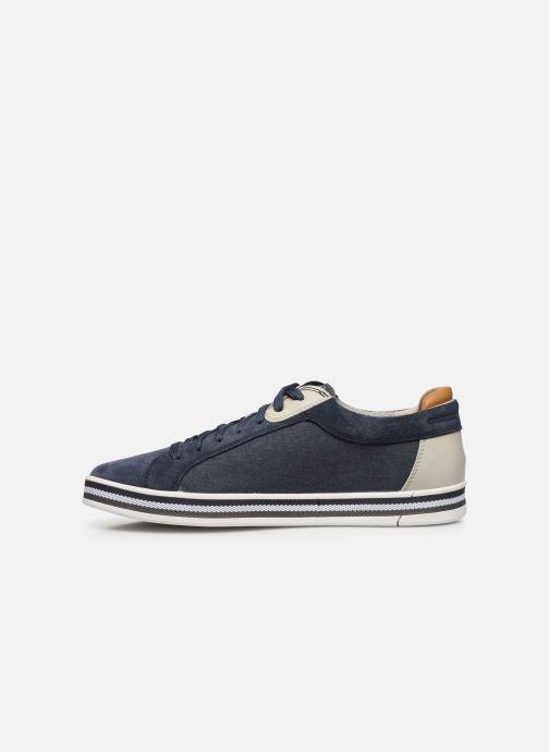 Sneaker Geox U EOLO blau ansicht von vorne
