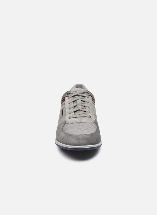 Baskets Geox U RENAN U824GB Gris vue portées chaussures