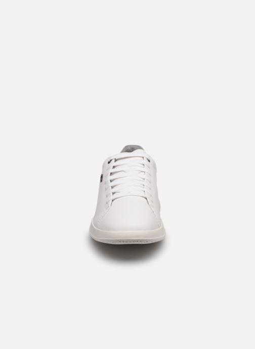 Baskets Geox U KENNET Blanc vue portées chaussures