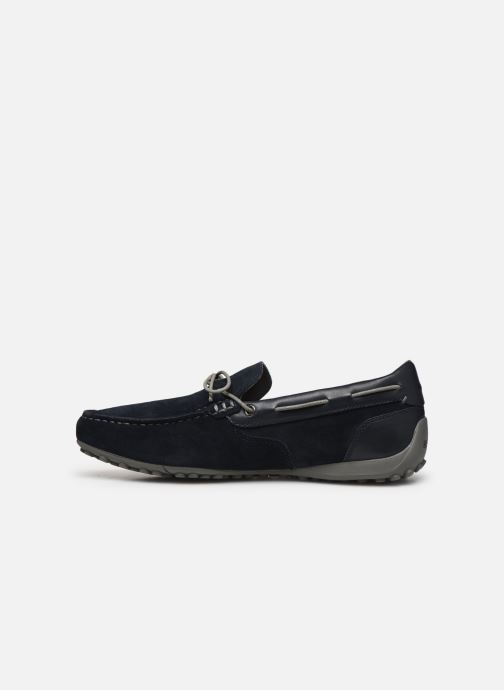 Geox Uomo Snake Moccasino Suede Moccasins, Navy in 2020
