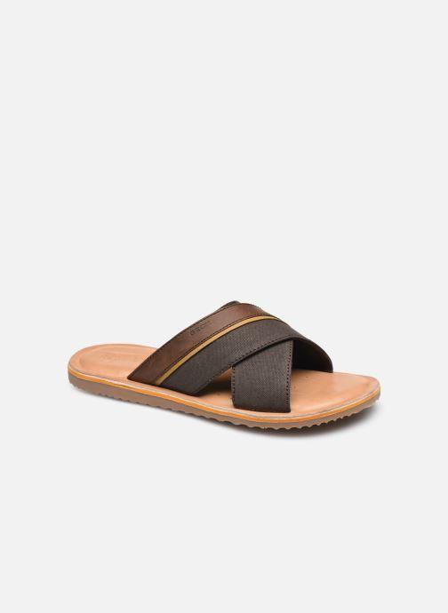 Sandales et nu-pieds Geox U ARTIE Marron vue détail/paire