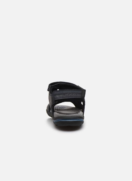 Sandales et nu-pieds Geox U TEVERE Bleu vue droite