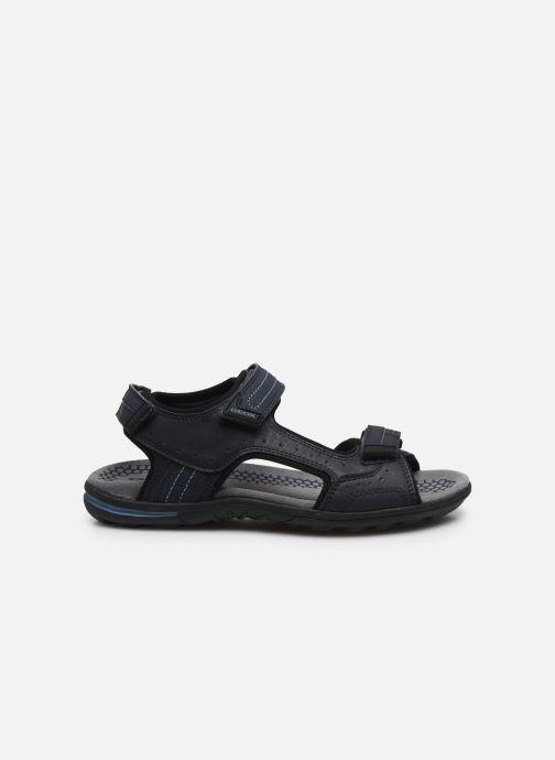 Sandales et nu-pieds Geox U TEVERE Bleu vue derrière