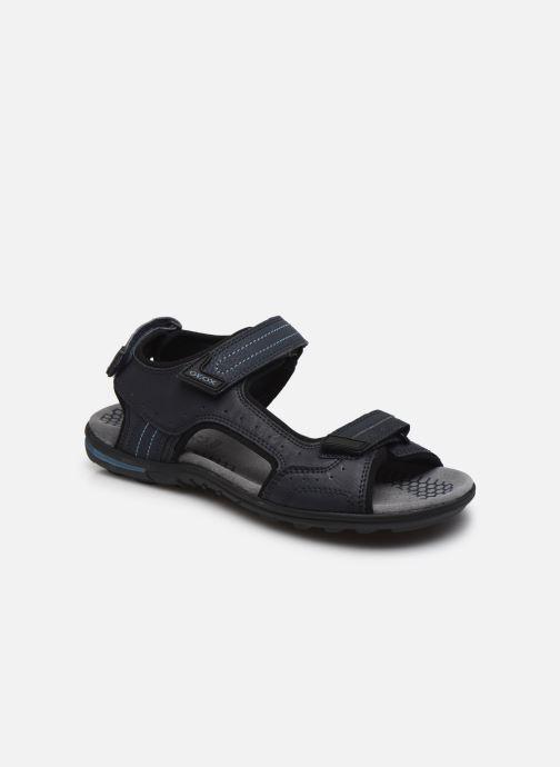 Sandales et nu-pieds Geox U TEVERE Bleu vue détail/paire