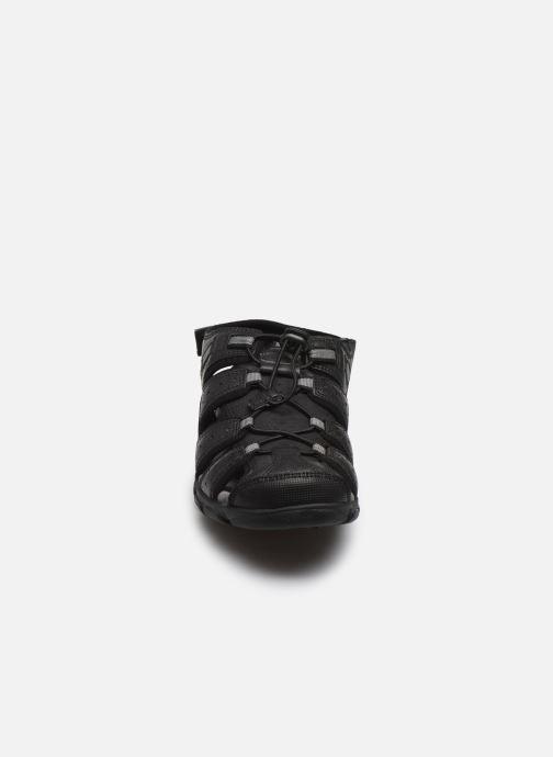 Sandales et nu-pieds Geox UOMO SANDAL STRADA U6224B Noir vue portées chaussures