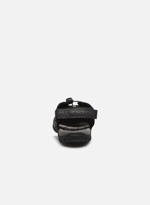Sandales et nu-pieds Geox UOMO SANDAL STRADA U6224B Noir vue droite