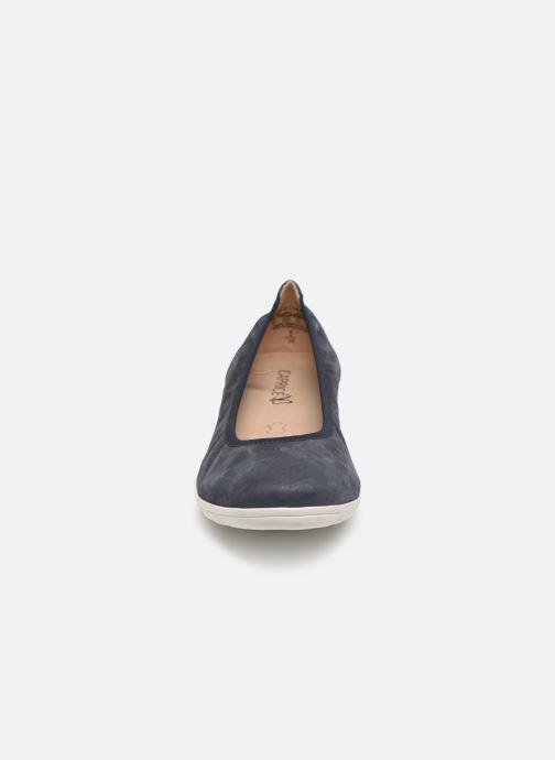 Ballerines Caprice Betsy Bleu vue portées chaussures