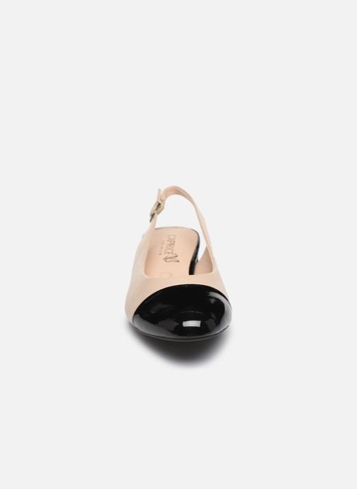 Escarpins Caprice Sakae Beige vue portées chaussures