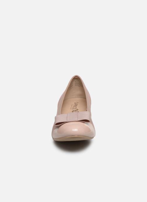 Escarpins Caprice Sansa Rose vue portées chaussures